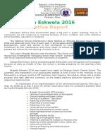 Brigada Eskwela (Narrative)