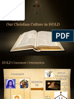 Talk4 Christian Culture in HOLD