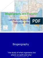 Bio Geography Evolution