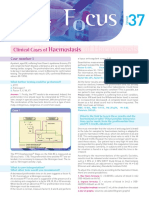 37 Focus Clinical Cases Haemostasis UK