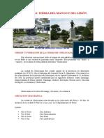 Artículo Promocionando El Turismo de Chulucanas