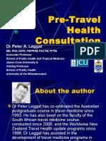 Pre Trevel Health Consultation