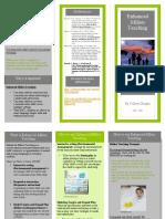 brochure of language strategies