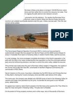 Burmese Army to Transport 100000 Burman Voters to Kachin State