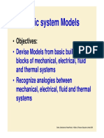 Mechanical System Model