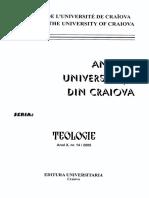 31 - Pr. Lect Dr. Constantin BĂJĂU - Învățămintele morale  în tâlcuirea Sfântului Ioan Gură de Aur la Epistolele I și II Tes..pdf