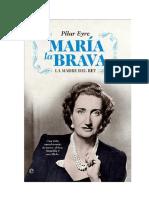 Maria La Brava - Pilar Eyre