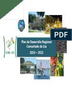 Plan de Desarrollo Regional Concertado 2010 - 2021 Ica