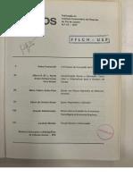 Adam Przeworski. O Processo de Formação Das Classes