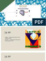 16 PF Psicometria
