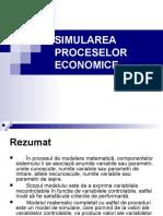 Simularea proceselor economice
