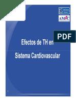 Efectos de TH en Sistema Cardiovascular