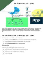 CCNA Security 2.0 PT Practice SA - Part 1