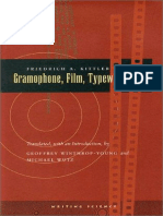 Gramophone, film, typewriter - Friedrich A. Kittler.pdf
