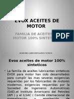 Evox Aceites de Motor