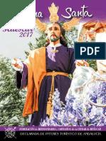 Programa Semana Santa Huescar 2017