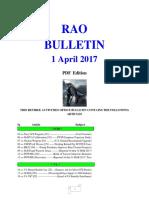 Bulletin 170401 (PDF Edition)