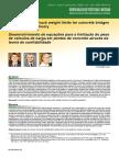 Desenvolvimento de Equações Para a Limitação Do Peso de Veículos de Carga Em Pontes de Concreto Através Da Teoria de Confiabilidade
