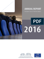 Annual Report 2016 ENG  Η  ετησία έκθεση του δικαστηρίου ανθρωπίνων δικαιωμάτων 2016