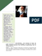 Entrevista a Pablo Freire