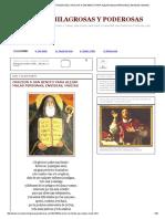 Oraciones Milagrosas y Poderosas_ Oracion a San Benito Para Alejar Malas Personas, Envidias, Magias