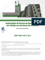 Norma de Desempenho - Estruturas de Concreto