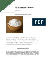 10000 Usos Del Bicarbonato de Sodio