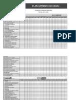 Modelo de Planejamento de Obra