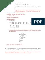 Stefan-Boltzman Problems Solutions