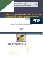 1 - Princípios de Gastronomia e Alimentos Funcionais