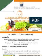 Aula 8 - Alimentação Complementar Em Lactentes 2016
