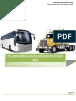 Estadistica Basica Del Autotransporte Federal 2014