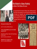 Declassify Files Related to Allama Mashriqi - Founder of Khaksar Tehrik (Khaksar Movement)