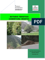 Estudio Tematico Covertura Vegetal
