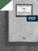 Diez de Velazco - Las Organizaciones Internacionales (Parte 1)