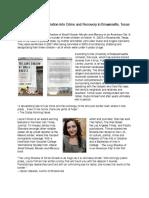 Book Article. Olivia Pearson