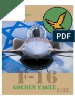 F-16a Israel Golden Eagle