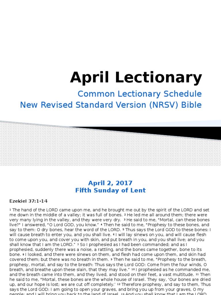 revised common lectionary 2017 pdf