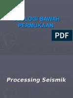 Processing Seismik