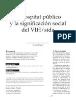 Biagini Hosp Publico y Significacion Vih Sida