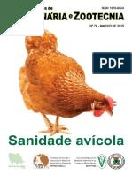 Caderno técnico de Veterinária e Zootecnia - Sanidade Avícola