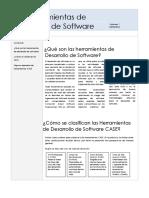 Las Herramientas de Desarrollo de Software
