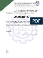 Credencial Nº 001
