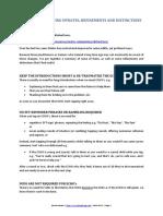 Bennie Naude Matrix Reimprinting Distinctions v0.1