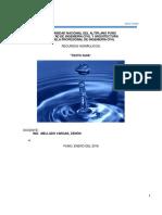 Libro Fial de Recursos Hidraulicos