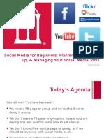 1 Social Media Beginners