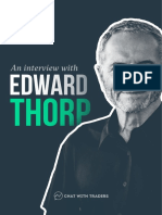 Chat With Traders Edward Thorp Interview