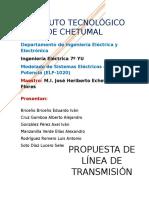 Propuesta de Líneas de Transmisión-Unidad 1-Potencia