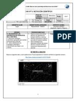 Ficha N°5 Notación Científica