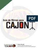 Guiade Ritmos para Cajon